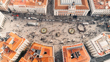 Aerial View Of The Puerta Del ...