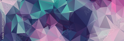 Abstract Color Polygon Background Design, Abstract Geometric Origami Style Wi...