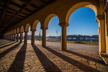 The Parterre And Arcade At The...