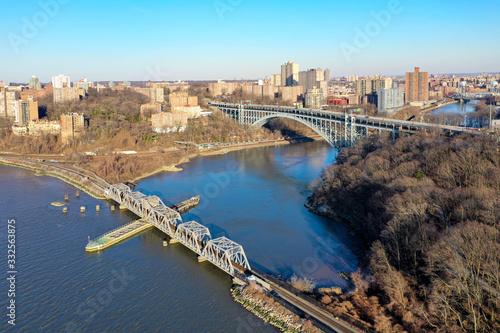 Obraz na plátně Henry Hudson Bridge - New York City