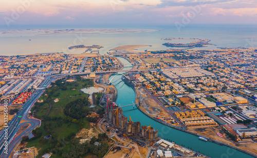 Fotografija Aerial view of Tolerance bridge