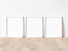 Vertical Wooden Frame Poster O...