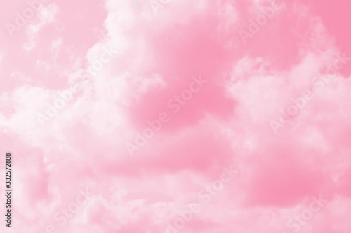 Fototapeta pink sky and clouds background