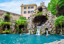 Eagle Fountain In Vatican Gard...