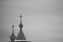 Cemetery Winter Cross / Concep...