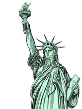 Statue Of Liberty, Symbol Of F...