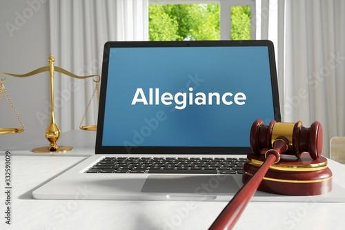 Allegiance – Law, Judgment, Web Wallpaper Mural