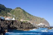 Panoramic View Of The Coastal ...