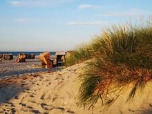 Beach In The Evening Sun
