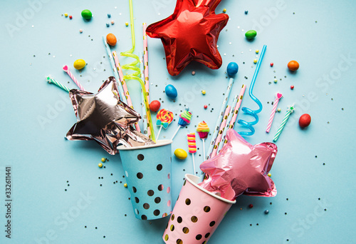 Photographie Happy birthday or party background