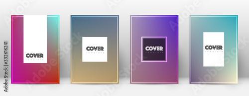 Fényképezés Flyer layout. Hipster stunning template for Brochu