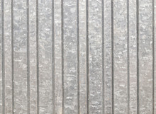 Corrugated Metal Texture Surface Or Galvanize Steel Background. Black And White Toning