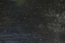 Scratch Black Background Overl...