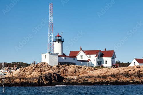 Fototapeta Ten Pound Island Lighthouse Gloucester