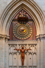 Wells Cathedral Astronomical Clock - Wells Cathedral - England