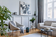 Stylish Scandinavian Home Inte...