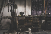 Old Abandoned Mechanical Works...
