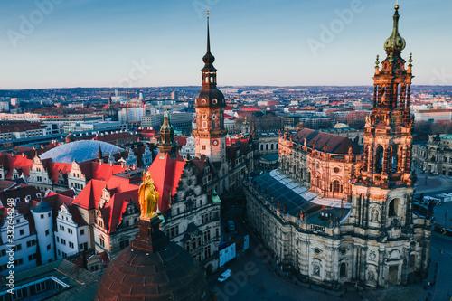 Fotografiet Dresden oldtown