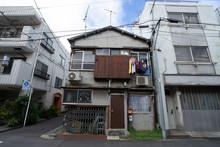 日本の古い住宅長屋