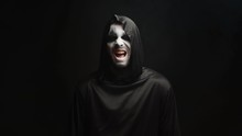 Grim Reaper With Scary Laughin...