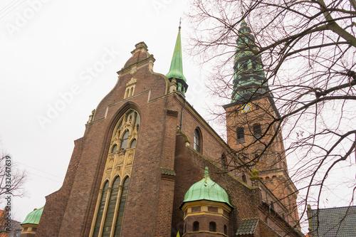 Church of the Holy Spirit in Copenhagen, Denmark . Canvas Print