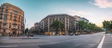 Paseo De Gracia In Barcelona, ...