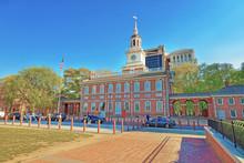 Independence Hall Of Philadelphia PA USA