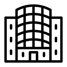 Building Icon. Business Office...