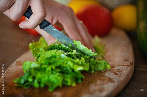 La Salade Vegan Canvas Print