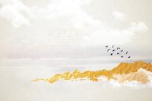 Modern Digital Art Of Chinese Landscape Painting