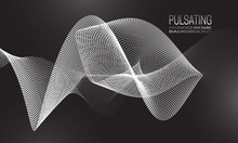 Pulsating Monochrome Backgroun...