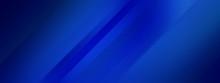 Wide Banner - Dark Blue Backgr...