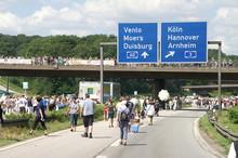 Stilleben A40 Im Ruhrgebiet