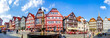 canvas print picture - Marktplatz, Fritzlar, Hessen, Deutschland
