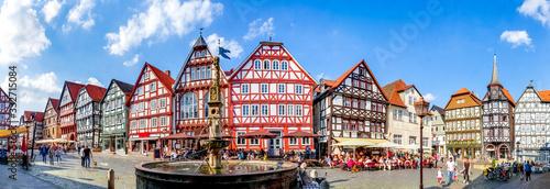 Marktplatz, Fritzlar, Hessen, Deutschland Fototapete