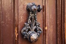 Old Shabby Vintage Metal Door ...