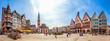 Römer, Panorama, Frankfurt am Main, Deutschland