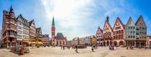 Römer, Panorama, Frankfurt Am...