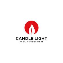 Illustration Modern Candle Lig...