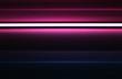Horizontal neon pinky blast illustration background