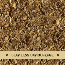 Vector Seamless Grass Camouflage