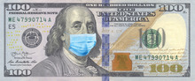 100 Bills With Benjamin Frankl...