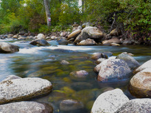 Long Exposure River Flow Tranq...