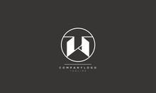 W Alphabet Letter Icon Logo De...