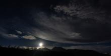 Moonrise Over Volcan Baru