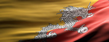 Bhutan National Flag Waving Te...