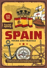 Spain Travel And Tourism, Naut...