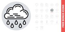 Heavy Rain, Shower Or Downpour...