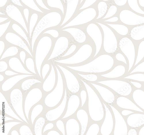 Tapety do gabinetu  vector-seamless-beige-pattern-with-white-drops-monochrome-abstract-floral-background