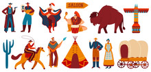 Wild West, Native Americans An...